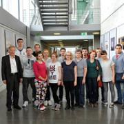 """Dr. Rossmann mit Besuchern vom Diakonieverein Migration Pinneberg • <a style=""""font-size:0.8em;"""" href=""""http://www.flickr.com/photos/89091438@N06/15511132516/"""" target=""""_blank"""">View on Flickr</a>"""