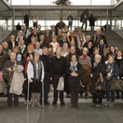 """Ernst Dieter Rossmann mit einer Besuchergruppe in Berlin • <a style=""""font-size:0.8em;"""" href=""""http://www.flickr.com/photos/89091438@N06/15322397194/"""" target=""""_blank"""">View on Flickr</a>"""
