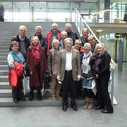 """Ernst Dieter Rossmann mit einer Besuchergruppe in Berlin • <a style=""""font-size:0.8em;"""" href=""""http://www.flickr.com/photos/89091438@N06/15889346971/"""" target=""""_blank"""">View on Flickr</a>"""