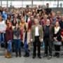 """Ernst Dieter Rossmann mit einer Besuchergruppe der Berifsschule Elmshorn.jpg • <a style=""""font-size:0.8em;"""" href=""""http://www.flickr.com/photos/89091438@N06/15829871863/"""" target=""""_blank"""">View on Flickr</a>"""
