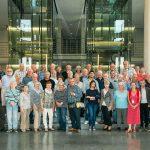 Freuten sich über den Hauptstadtbesuch und die Diskussion mit ihrem SPD-Abgeordneten: Die Teilnehmer der Besuchergruppe aus dem Kreis Pinneberg.