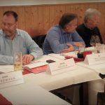 Forderten mehr Mitbestimmungsrechte für Betriebsräte bei Werkverträgen: Die Teilnehmer der Arbeitnehmerrunde der Kreis Pinneberger AfA.
