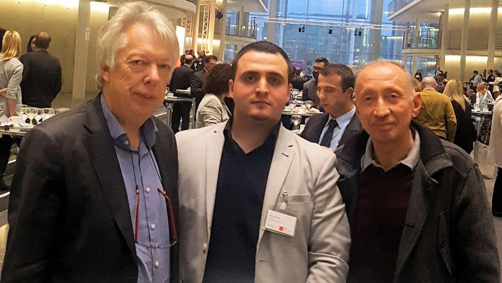 Ernst Dieter Rossmann, Harun Öznarin und Riza Yurt