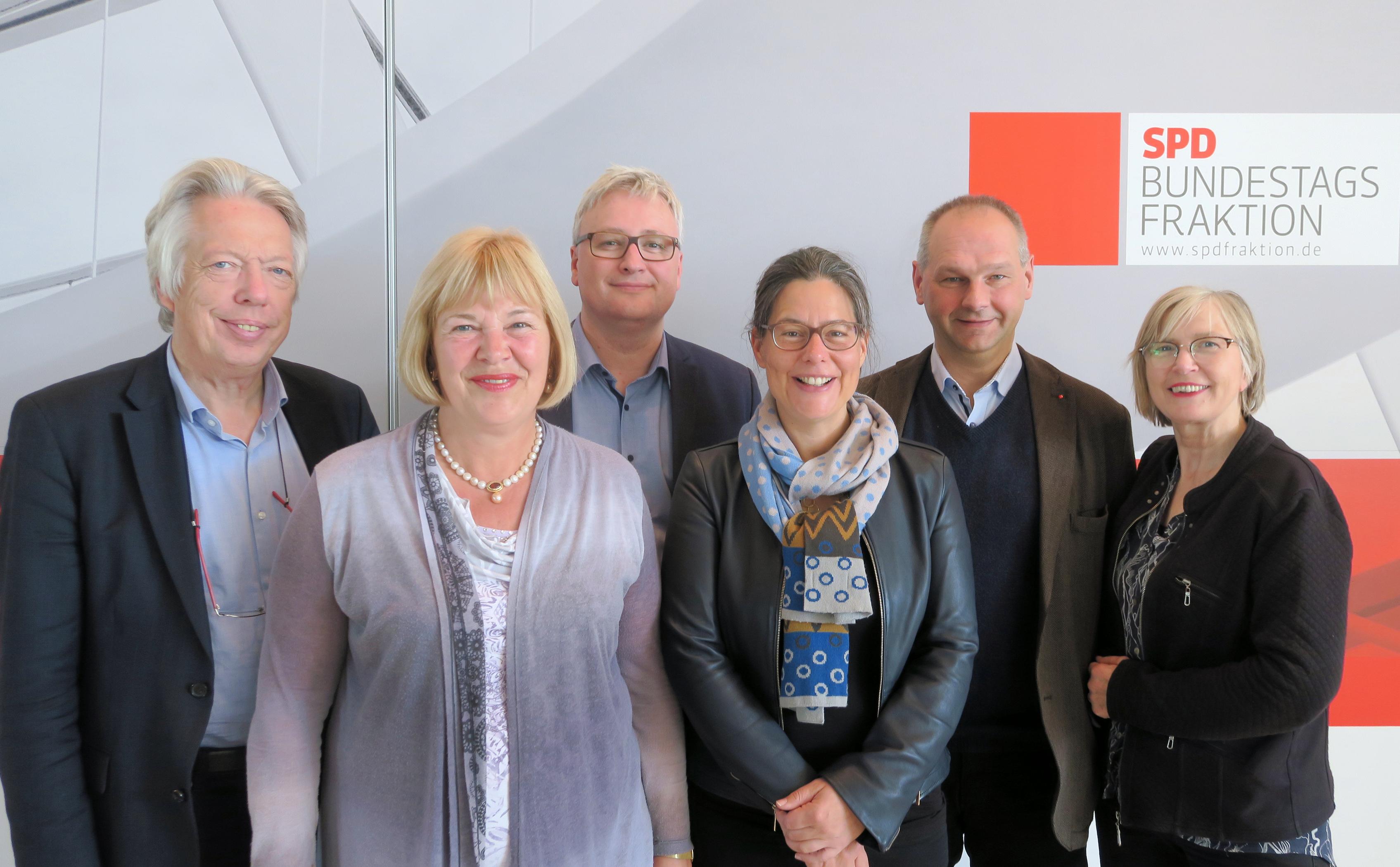 SPD-Landesgruppe: Wechsel beim Sprecherposten   Ernst Dieter Rossmann