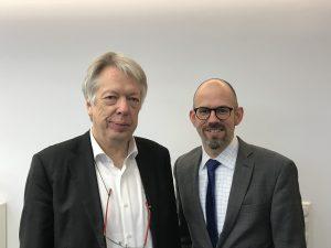 Ernst Dieter Rossmann und Markus Guhl
