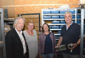 Zu Besuch in einem Metallbautrieb, der sich auf Schließ- und Sicherheitstechnik für Türen und Tore spezialisiert hat