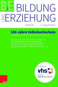 Bildung und Erziehung, 71. Jahrgang, Heft 2-2018