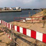 Ein Bauprojekt, das finanziell aus dem Ruder läuft: Die Südostmole des Helgoländer Binnenhafens wird zum Millionengrab