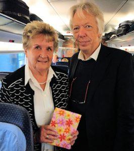 Renate Steinbring mit Ernst Dieter Rossmann