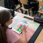Tablet in der Schule